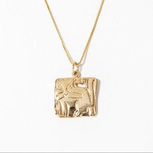 🌼 euc | child of wild | Bastet necklace